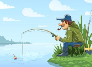 Lowa: pesca, pescar